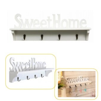 Harga Sweet Home Elegant And Creative Wall Shelving White
