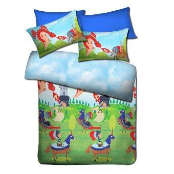 Harga Akemi Fantasia King Knight Wars King Fitted Sheet Set