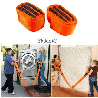 Harga Good Service Adjustable Straps Forearm Forklift lifting and Moving Furniture Portable Orange
