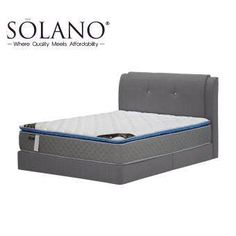 Harga Solano Direct Factory Best Seller Of The Month + Sturdy Structure Queen Bed Frame with Safety Warranty