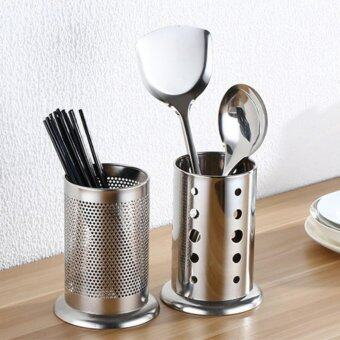Harga 2 Stainless Steel Utensils Forks Spoon Knives Chopsticks Cutlery Holder Organizer Drainer