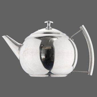 Harga Stainless Steel Teapot Tea Pot Coffee With Tea Leaf Filter Infuser New 2L