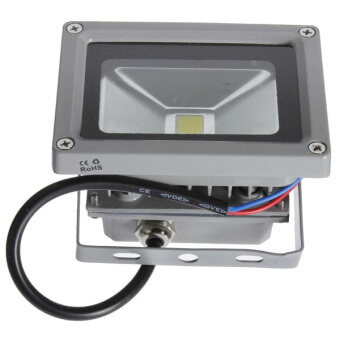 Harga 10W Pure White High Power LED Flood Wash Light Lamp Bulb Outdoor Waterproof 220V