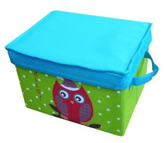 Harga Neo Geo Kids Box With Cover Large (Owl)