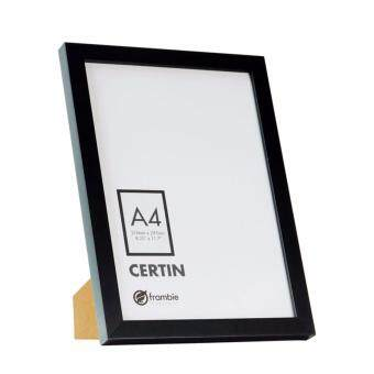 Harga Frambie CERTIN A4 - Black Color Certificate / Document Frame - A4 Size