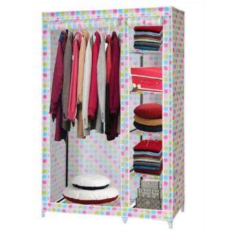 Harga Homebase Modern Roll Up Curtain Clothes Wardrobe