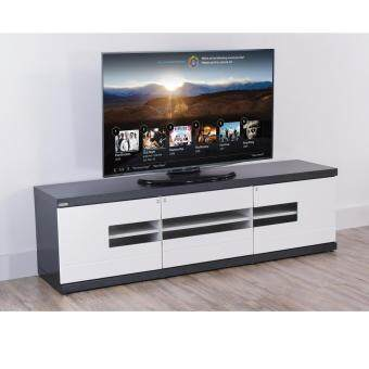 Harga Crown Mona A663 5FT Modern TV Cabinet with Door ( Modern Black )
