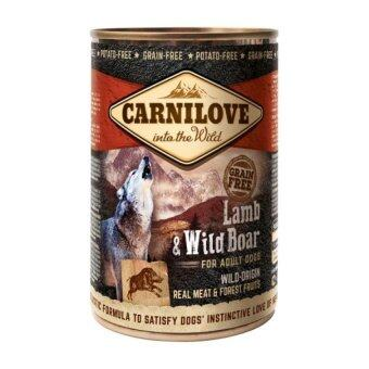 Harga Brit Carnilove Wild-Origin Real Meat Lamb & Wild Boar For Adult Dogs (400G x 3)