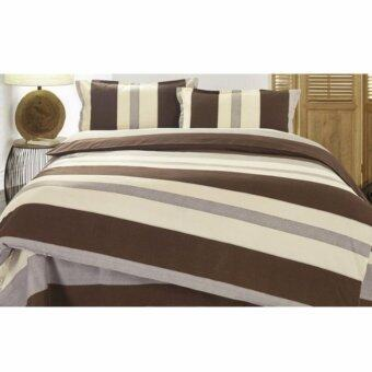 Harga Buy One get One Free! Velvet-Cotton Quilt Cover & Bed Sheet King Set (Muji) (Multi-coloured)