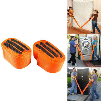 Harga 2PCs Forearm Wrist Heavy Duty Furniture Moving Belt Team Straps Easy Carry Tools