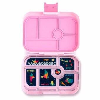 Harga Yumbox - 6 compartments Bento-style leakproof lunchbox (Bahamas Pink)