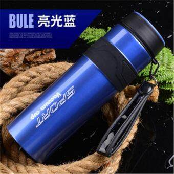 Harga BAFFECT 1000ML Portable Sport Water Bottles Stainless Steel Insulation Cup(Blue)