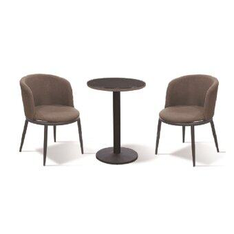 Harga LAVIN LOUNGE SET LS 306 BROWN (1 TABLE +2 CHAIR )