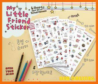 Harga My Little Red Hat Friend Diary Sticker