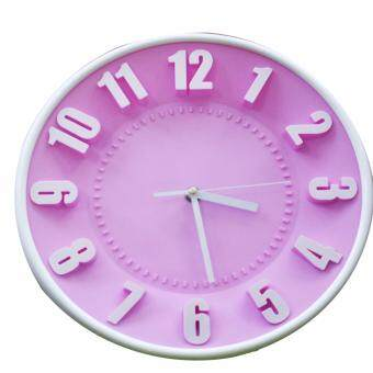 Harga 3D Fashion Wall Clock/Jam Dinding/Jam Bulat