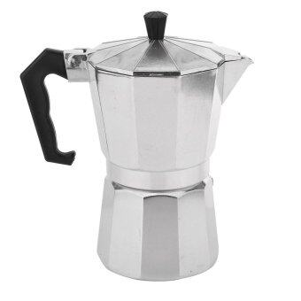 Harga 2pcs 3 Cup Moka Express Stovetop Espresso Coffee Maker Pot Latte 6 CUP 300ML