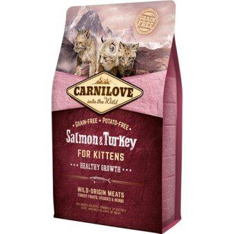 Harga Brit Carnilove Kitten Salmon & Turkey Grain-Free (2 kg)