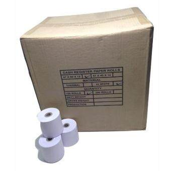 Harga CASH REGISTER PAPER ROLL ,RECEIPT PAPER 57X60X12mm