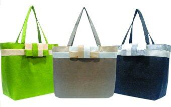 Harga Felt Bag with Ribbon / Felt Beg / Shopping Bag / Handle Bag / Shoulder Bag (B0200)