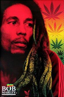 Harga Bob Marley (Dreads) - Pyramid International Poster (61 cm X 91.5 cm)