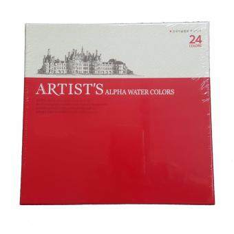 Harga Alpha Artists Watercolour (24 Colours Set)