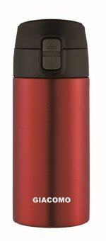 Harga Giacomo 350ml Stainless Steel Vacuum Flask - Red