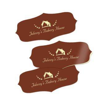 Harga Pixajoy Personalised Sticker, Fancy 90mm x 40mm (56 Pieces)