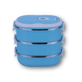 Harga Giacomo 3 Tier Stainless Steel Insulated 2.7L Tiffin Carrier