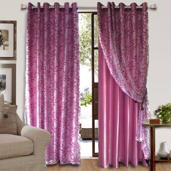 Harga Essina Eyelet Curtain 2Layer 200cm x 260cm 1pc - FERN