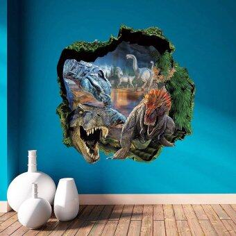 Harga Dinosaur Removable Art Vinyl Quote Wall Stickers Decal Mural Home Room Hoom Decor DIY