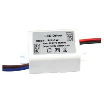 Harga External Constant Current LED Driver 3~5*1W Output Voltage 9~20V P-LD-5W