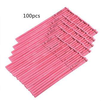 Harga Sweet Natural Ear Candle DIY Fragrant Candling Therapy Healthy Ear Care (100pcs Rose Fragrance-Rosy)