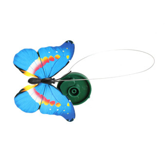 Harga Solar Powered Dancing Flying Butterfly Garden Decoration Color At Random