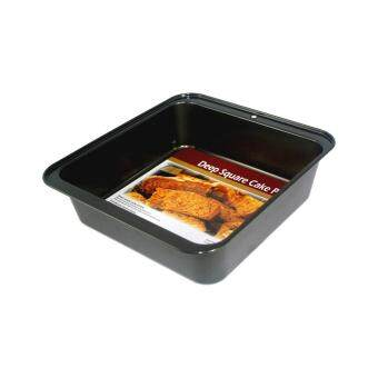 Harga BAKECRAFT Deep Square Cake Pan Non-Stick - 9 inch