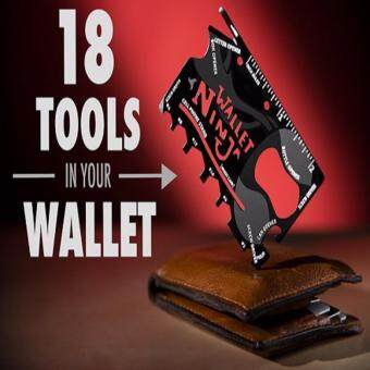 Harga NINJA WALLET-18-in-1 tool in your wallet