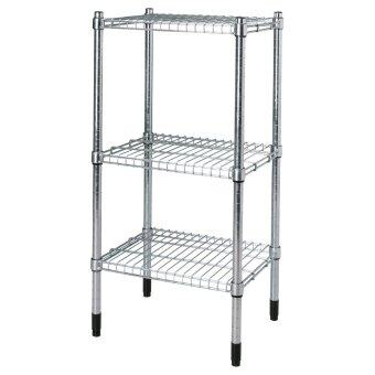 Harga Ikea 201.672.06 Omar Storage Shelf , Galvanised Steel (46 x 92 x 36 cm)