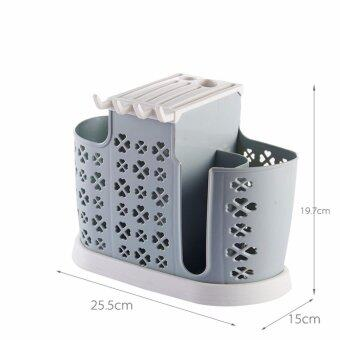 Harga Kitchen Dining Cutlery Utensils Knives Spoon Fork Knife Chopsticks Drainer Organizer Drying Rack Cutlery Holder