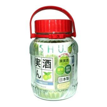 Harga Umeshu Glass Jar with UV Coating - 3L