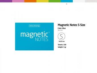 Harga Magnetic Notes S (Blue)