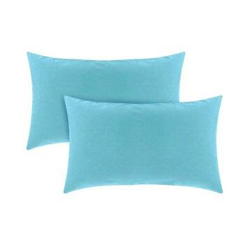 Harga Essina 100% Cotton Candies 620TC Pillow Cases 2pcs_set - TURQUOISE