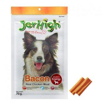 Harga Jerhigh Dog Snack (bacon) (70g) 6 packs