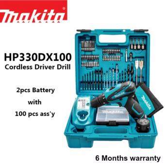 Harga Makita HP330DX100 10.8V Cordless Driver Drill c/w 100 Accessories Set