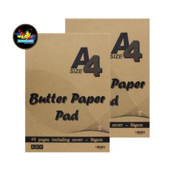Harga ADV Butter Paper Pad A4 - BUT440 38gsm (40 Pages) (Set of 2)