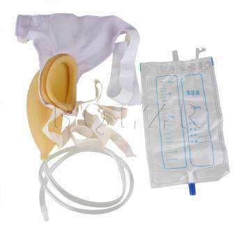 Harga Male Urine Collector 1000mL Storage Bag BT-4 Yellow