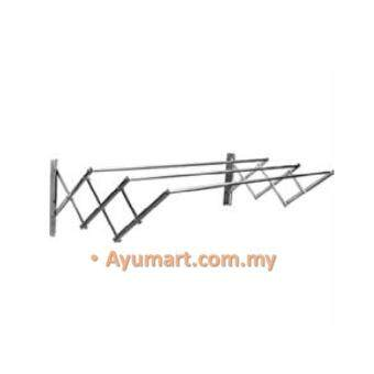 Harga Aluminium 3Feet Extension Wall Hanger Cloth Laundry Hanger