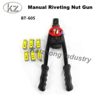 Harga Kaizhong BT605 hand riveter pull rivet nut riveting tools with nut setting system M3/M4/M5/M6/M8/M10