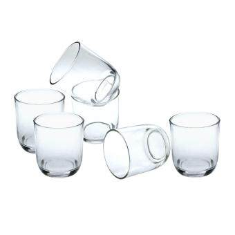 Harga Glass Water Tumbler 6 PCS Set