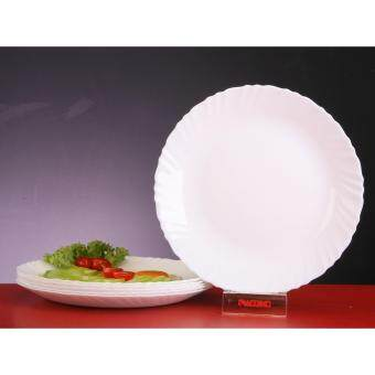 "Harga Giacomo 27cm (10.5"") Opal Glass Dinner Plate - 6pc"
