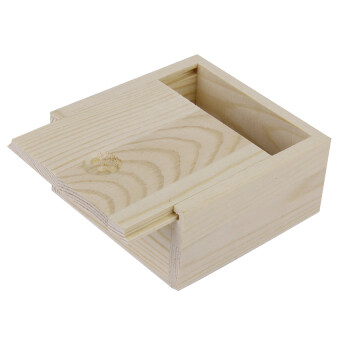 Harga S & F Nature Wooden Storage Box (Brown)