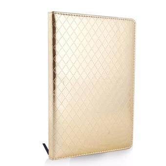 Harga Notebook GBP0536 PU 120 Sheets Hardcover Golden Silver